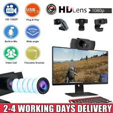 HD Autofokus Webcam 1080P Kamera USB 2.0 Mit Mikrofon für PC Laptop Computer Mac