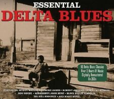 Essential Delta Blues 2-CD NEW SEALED Muddy Waters/Elmore James/Robert Johnson+