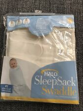 Halo Sleep Sack Swaddle Cream Neutral Birth To 3 Months NEW