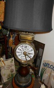 "Rare Chadboam's Brass Ship's Telegraph (Liverpool) 40"" Tall Lamp"