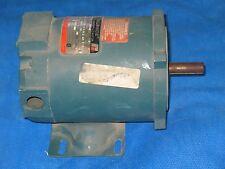 RELIANCE ELECTRIC 1/4 HP 3 PH AC MOTOR 208-230/460 VAC P56H3615P-QU