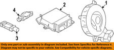 Dodge CHRYSLER OEM Journey Airbag Air Bag-Clockspring Clock Spring 68067552AK