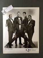 Original 1950s-60s 8 x 10 Publicity Photo Vocal Group Doo Wop R&R The Vibrations
