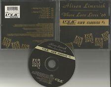 ALISON LIMERICK & PAUL OAKENFOLD Where Love Lives 96 6TRX MIXES & EDIT CD single