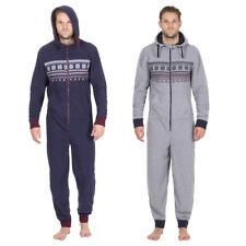 Herren Overall Jumpsuit  Freizeit S/M  M/L L/XL  Fleece Neu Sport Onesie