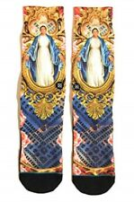 "Stance Socks, Dwayne Wade Collection ""Flash"" (Virgin Mary) M (6-9)"