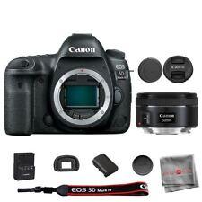 Cámara SLR Canon EOS 5D Mark IV EF Digital cuerpo + Lente 50mm f/1.8 STM
