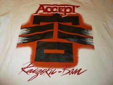 Accept Vintage Shirt ( Used Size L ) Very Nice Condition!!!