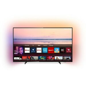 """Refurbished Philips 43"""" 4K Ultra HD with HDR10+ LED Freeview Play Smart TV witho"""