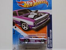 HOT WHEELS 2011 PURPLE PLYMOUTH DUSTER BUSTER 134/244