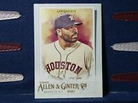 2020 Topps Allen & Ginter #276 Jose Urquidy RC Rookie Houston Astros
