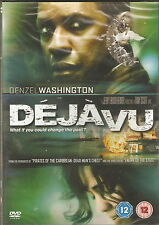 DEJA VU - Denzel Washington, Val Kilmer, Jim Caviezel (NEW/SEALED DVD)