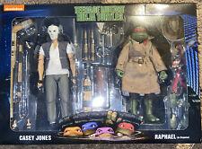 NECA TMNT Movie Casey Jones & Raphael Teenage Mutant Ninja Turtles 2-Pack NEW
