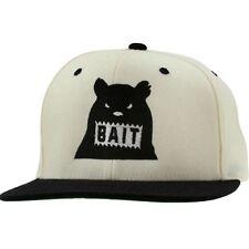 Bait Bear Snapback Cap (natural / black / black)
