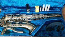 Serviced Yamaha student tenor saxophone