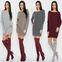 █■█ █ ▀█▀ Neu Damen Luxus Sweatshirt Pullover Cardigan Tunika Oversize S M L ! !