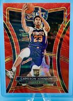 Cameron Johnson 2019-20 Panini Select T-Mall PREMIER RED WAVE PRIZM #154 RC