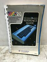 Vic 20 Programmers Reference Guide 1983 Paperback Acceptable Condition