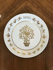 9 Vintage Spode Limited Edition Christmas Collectors Plates
