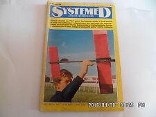 SYSTEME D N°295 AOUT 1970 PORTE POT EN FER FORGE CONSTRUIRE UN CHALET EN A   G56
