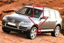 Neuf D'Origine VW Touareg 03-10 avant N/S Aile Gauche Bas Enjoliveur PLASTIQUE