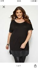 Size 22/24 Yours Clothing Bnwt Ladies Black