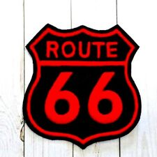 Route 66 Patch Highway 66 Badge Interstate 66 Iron to Sew on Travel Patch Crest