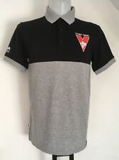Sydney Swans Black/.Grey Polo Shirt By Majestic Size Adults Large Brand New
