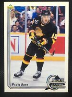 Pavel Bure  Canucks 1992-1993 Upper Deck Rookie Report #362