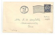 AT178 1932 Canada *OTTAWA* Cover Masonville Quebec FDC PTS