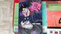 """8"" English Comic Book Manga"