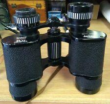 VTG Swift Binoculars 7x35 Field 7.0° No. 813 fully coated Leather Case & Strap