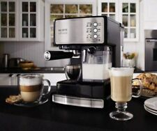 Mr. Coffee Cafe Barista Espresso Maker with Automatic Milk Frother!