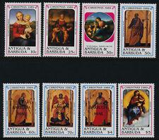 Barbuda 1073-81 MNH Christmas, Art, Paintings