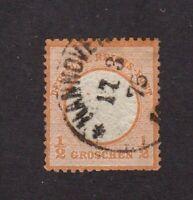 Germany stamp #3, used, 1872, SCV $40.00
