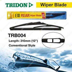 Tridon Rear Plastic Wiper Blade for Toyota Kluger Landcruiser 200 RAV4 Yaris