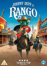 DVD:RANGO (RE-SLEEVE) - NEW Region 2 UK