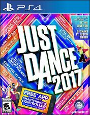 PLAYSTATION 4 JUST DANCE 2017 BRAND NEW VIDEO GAME