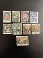 1922 Armenia Stamp Lot Of 8 Unused Sc# 300 301 303 304 305 306 307 308 309
