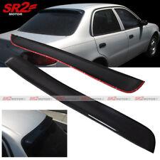 Rear Roof Visor Spoiler Window Sun Rain Shade Wing fits 98-01 Toyota Corolla
