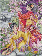 Geishas-Maia Collection-Anchor Cross Stitch Kit - 5678000 \ 1025