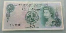 Willie : Isle of man 1 Pound 1979, Queen Elizabeth II (VF)