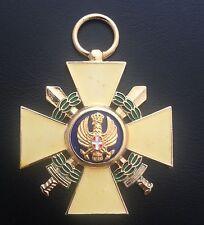 MUSEUM QUALITY WW2 MUSSOLINI ITALIAN ORDER OF THE ROMAN EAGLE 1942