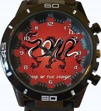 Chinese Ancient Red Face Dragon New Gt Series Sports Wrist Watch