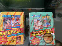 Donruss 1991 Puzzle and Cards Series 1 + 2 Baseball Card Retail Boxes New Sealed