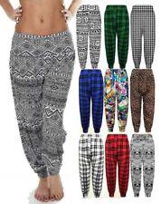 Nueva camiseta para mujer Alí Babá Pantalones holgados Harén Pantalones para Hareem Leggings Talla Grande 6-24