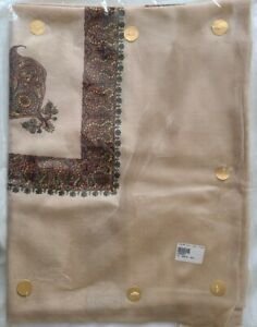 Yemini Kashmir Beige Shawl +++++++
