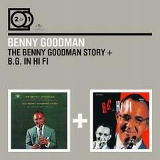 BENNY GOODMAN B.G. In Hi Fi/The Benny Goodman Story 2CD BRAND NEW