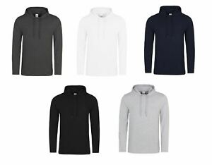 AWDis -  Toodie - Mens Cotton Long Sleeve Slim Fit T-shirt with a Hood JH007