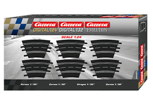 CARRERA 20577 RADIUS 1/30 CURVE TRACK NEW 1/24 1/32 SLOT CAR TRACK
